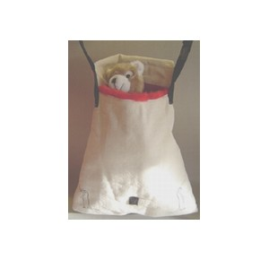 Ferret Shoulder carrier with flap