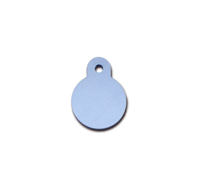 Tag cirkel small mat pastel blue