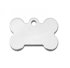 Tag bone small chrome