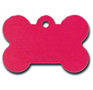 Tag bone small red