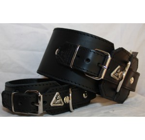 Power-Dogs XL-BIG BULL Halsband zwart