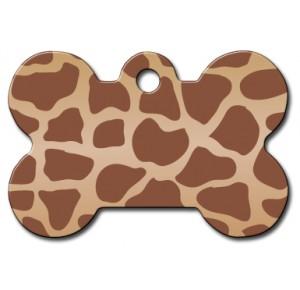 Tag bone large giraffe
