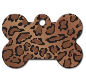 Tag bone large leopard