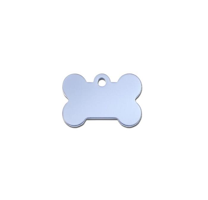 Tag bone small pastel blue