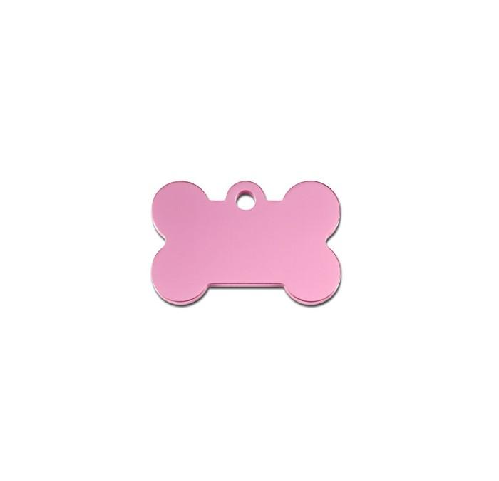 Tag bone small pastel pink