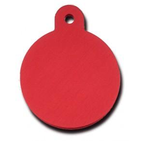 Penning rondje large rood
