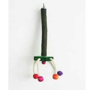 Twirl Perch met touw