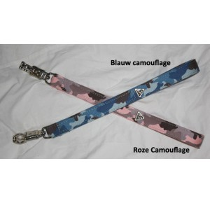 Power-dogs undercover short leash Pink camouflage