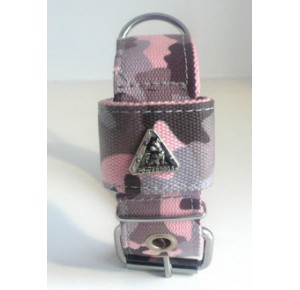 Power-dogs undercover halsband rolgesp Roze camouflage