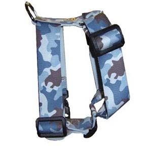 Power-dogs undercover harnas Blue camouflage 50 mm