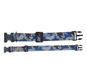 Power-dogs undercover klikhalsband Blue camouflage 50 mm