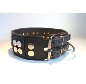 Power-Dogs XL-ATOMIC Halsband zwart