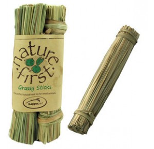 Happypet Nature First Small Animal Grassy Sticks 3 stuks