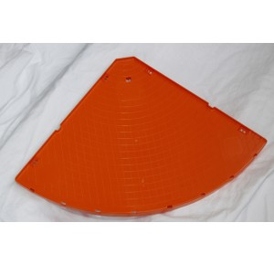 Ferplast orange corner shelve