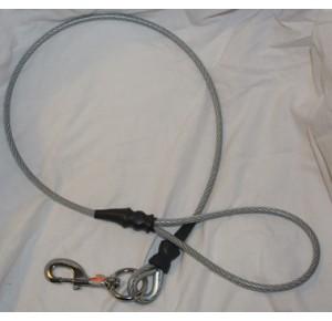 Metal leash long