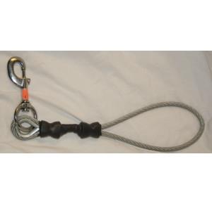 Metal leash short