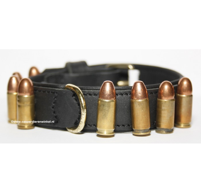 Bullet Halsband 25 mm breed