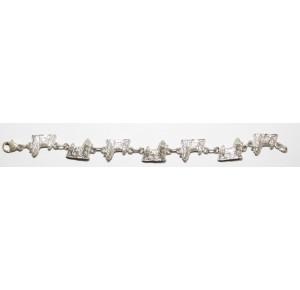 Silver bracelet Shih Tzu