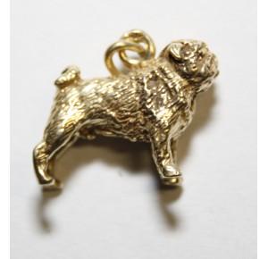 Charm Gilt Pug/mopshond