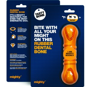 Mighty Tasty Bone Rubber Dental Bone Large