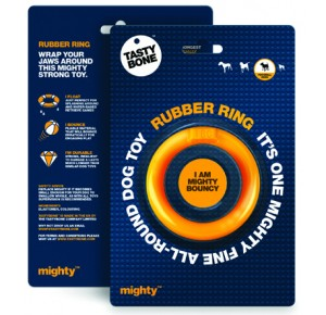 Mighty Tasty Bone Rubber Ring Small