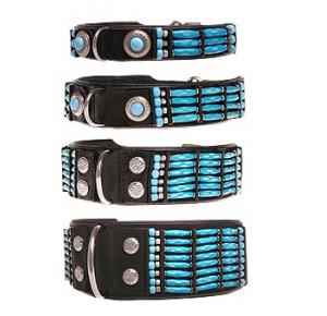 Doxtasy Blue River halsband 7 cm breed