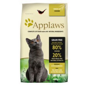 Applaws Senior kat kip brokjes 400 gram