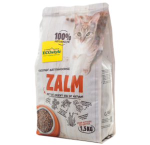 ECOstyle zalm kattenvoer 1,5 kilo