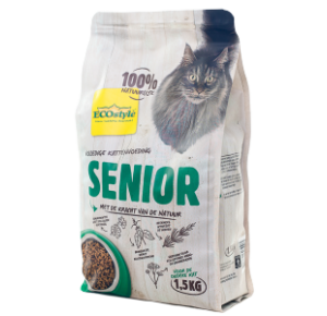 ECOstyle senior catfood 1,5 kilo