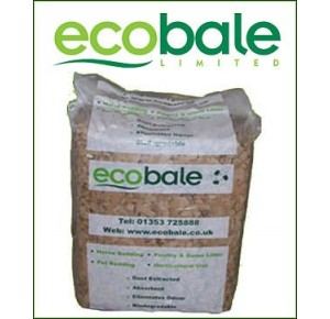 Ecobale cardboard animal bedding ca. 20 kilo