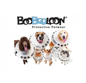 BooBooLoon Air Cushioned Pet Recovery Collar x-Small