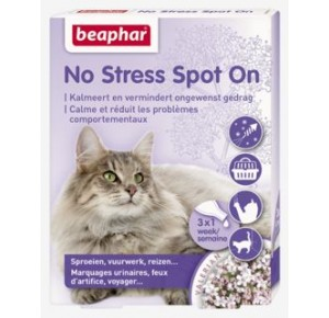Beaphar No Stress Spot On kat 3 pipetten