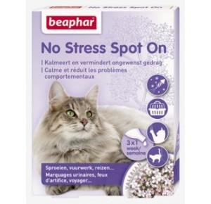 Beaphar No Stress Spot On kat 3 pipetten