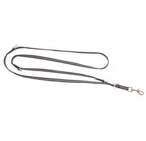 Julius K9 Super Grip Leash 20 mm adjustable 2 meter black/grey
