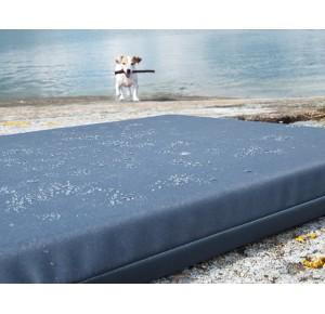 Bia Outdoor matras 73 x 50 x 5 cm Blauw