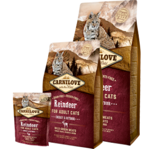 Carnilove Cat Grain Free Reindeer Adult Energy & Outdoor