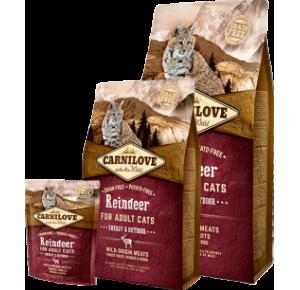 Carnilove Cat Grain Free Reindeer Adult Energy & Outdoor