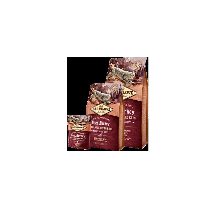 Carnilove Cat Grain Free Duck & Turkey Adult Large Breed