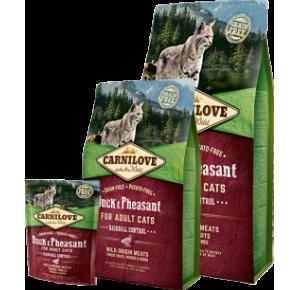 Carnilove Cat Grain Free Duck & Pheasant Adult Hairball