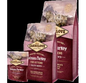 Carnilove Cat Grain Free Salmon & Turkey Kitten