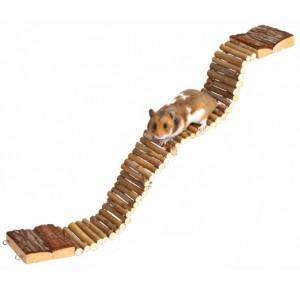 Trixie flexibele brug van hout