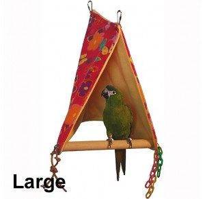 Northern Parrots toys Peekaboo Perch Tent