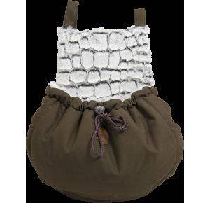 Snakeskin Kangaroo Bag