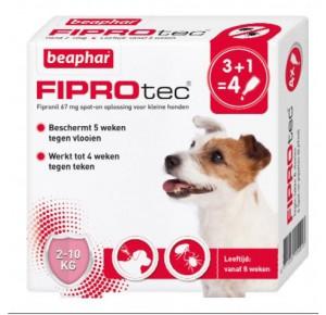 Beaphar Fiprotec Spot-On Hond 2-10kg 3 pipetten