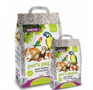 Esve Pet's Paper Bedding (Happy Ferret Bio Litter)