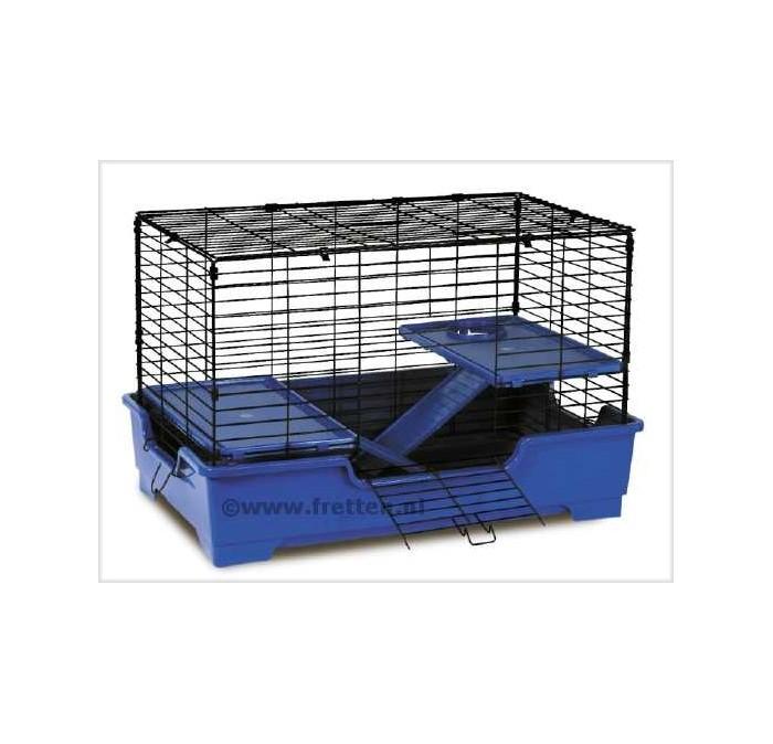 Super Pet Deluxe 3 level Care Home blue/black