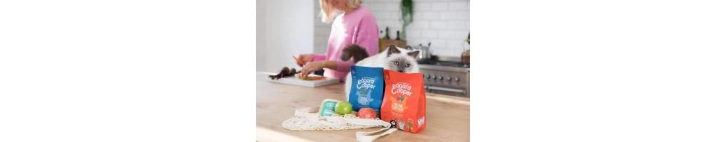 Edgar en Cooper kattenbrokjes